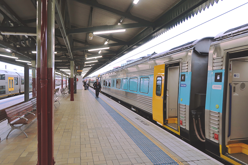 Train to Canberra